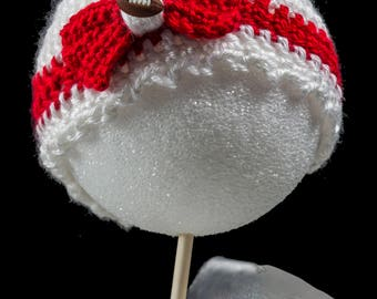 Wisconsin Badger Newborn Hat - boy and girl styles available