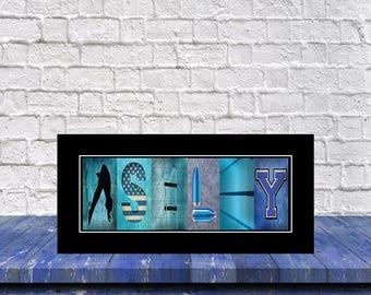 Diving Art, Dive Print, Name Art Dive Print, Senior Diver Gift, Personalized Dive Gift, Gift for Diver,Christmas Gift for Diver, Diving Sign