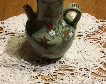 Seiei & Company 1930 Hand Painted Vase Made In Japan . . .