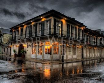 New Orleans Hotel, HDR 8x10 Fine Art Print
