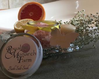 Sunny Citrus Bath Salt Soak