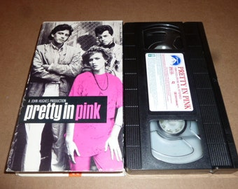 Pretty In Pink VHS movie TAPE Molly Ringwald