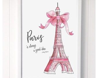 Paris Good Idea Print