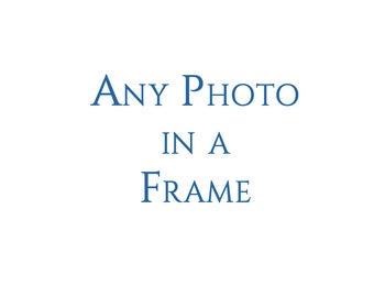 Framed Photo Wall Art Decor. Order any photograph framed with white mat and ready to hang. US SHIPPING ONLY