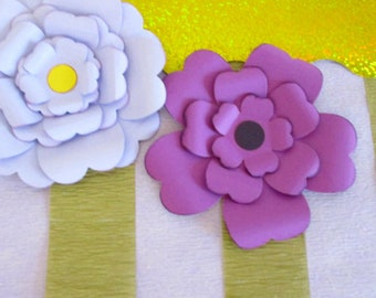 Flowers Peony Flower DIY Crafting Kit 10 Medium Flowers Crafting Pre Cut Flower Kit Embellishment Wreath Flowers Craft Kit Flowers Craft Kit
