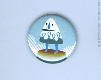 "Mr. Peak 1"" Pin-Back Button"