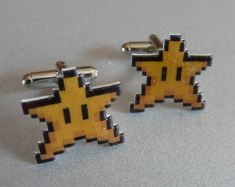you're invincible - super mario 3 cufflinks