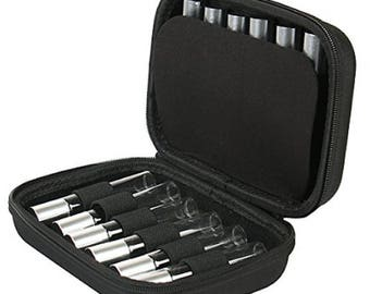 Essential Oils Carrying Case Holds 12 Bottles. Fits for 5ml/ 10ml Roller Bottles. Perfect for Travel or Daily Use.