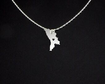 Moldova Necklace - Country Jewelry - Moldova Jewelry - Moldova Gift