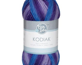 Glacier Fair Isle Kodiak Space Dye Yarn Wool (Pre-Order)