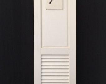 """Vinyl shutter with baseball insert 15"""" X 60"""""""