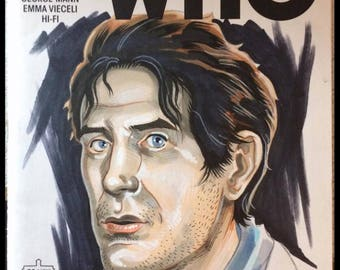 EIGHTH DOCTOR (Doctor Who) Sketch Cover - by comic book artist Blair Shedd