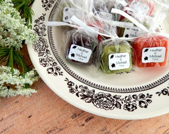 Fall Wedding Favors Autumn Wedding Rustic Wedding Bridal Shower Favors Baby Shower Favors Country Wedding Soap Favors Woodland Wedding