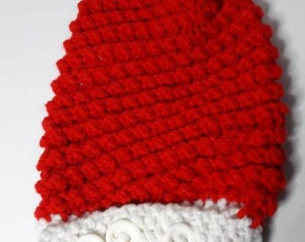 Baby Santa hat with tassel