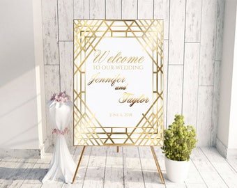 great gatsby sign, gatsby hen party, gatsby bridal shower, party like gatsby, gatsby wedding sign, roaring twenties, large wedding sign,