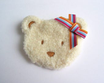 Application sewing pin pattern soft teddy - ref 6B or