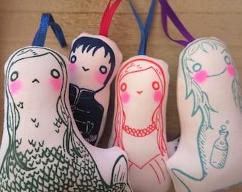 Little Mermaid dolls