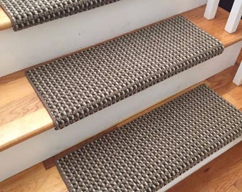 More Colors. San Marco Cathedral Shadow New Zealand Wool! TRUE Bullnose™ Carpet  Stair Tread ...