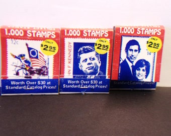 Vintage Matchbooks Princess Diana Prince Charles John F Kennedy Stamps Alfred Mathews Matches
