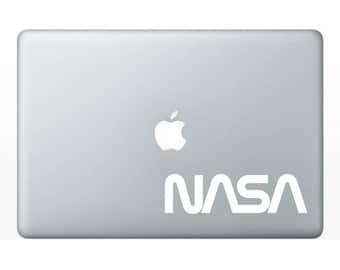 NASA Worm Logo Vinyl Sticker Decal