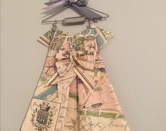 Folded map dress wiring data etsy your place to buy and sell all things handmade rh etsy com folded map clip art us road map folded gumiabroncs Gallery