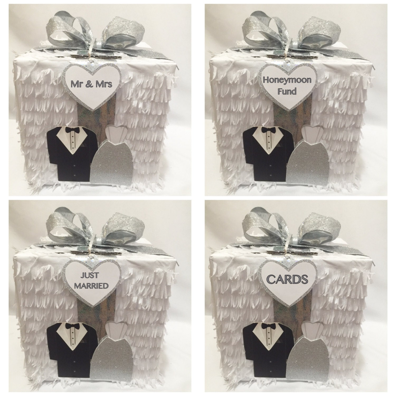 Anniversary Pinata Wedding Card Holder Bridal Shower Party