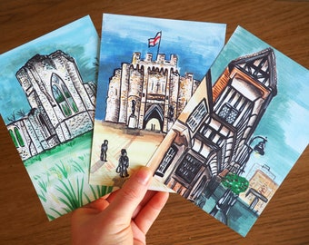 Historic Southampton | Set of 3 Postcards/Mini Prints