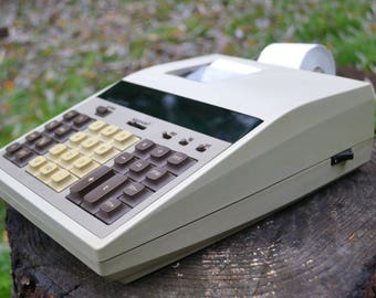 Vintage 1970s Sears Electronic Adding Machine