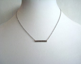 Personalized Strength Necklace