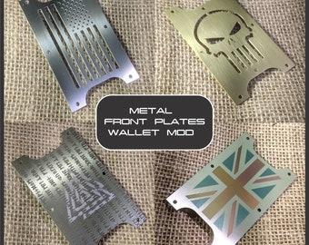 Wallet Mod - Metal Front Plates