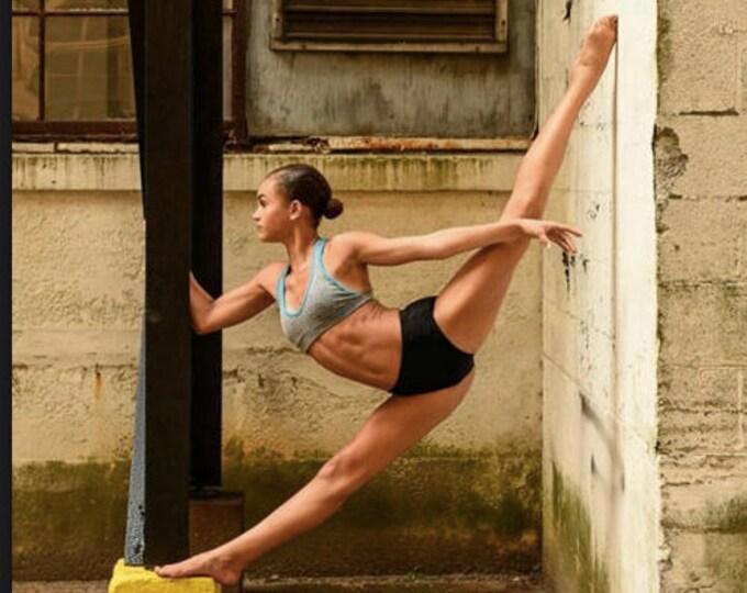 Dance Bra, Basic, Organic Bamboo Bra, Organic Cotton Bra, Dance Sports Bra, Yoga Wear, Dancewear, The Perfect Dance Bra ! Extra Soft 34.00