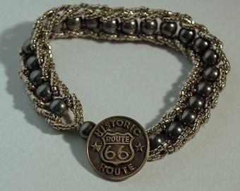Pearl Jam on Route 66 Bracelet