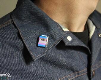 Enamel Pin, Trans Pride, FTM, Gay Pride, lgbt pins, Pride month, Transgender Agenda