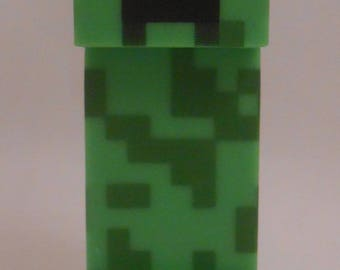 CUSTOM Christmas Ornament Made From Mojang Minecraft Overworld Creeper NEW