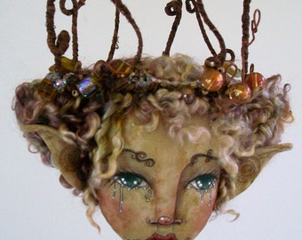 Online Class Art Doll Willabelle Forest Fairy Doll Tutorial Workshop Willabelle  weeping willow wildwood fairy