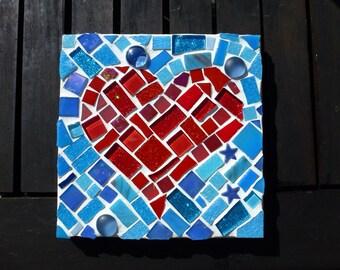 Small Mosaic Heart