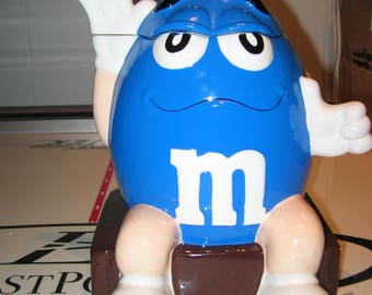 M & M Cookie Jar