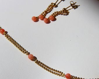 set in coral pink certified genuine pf30