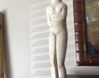 Alva Museum Replica of Greek Pre-HELLENIC CYCLADIC SCULPTURE by Bastis Master -Holiday Sale!