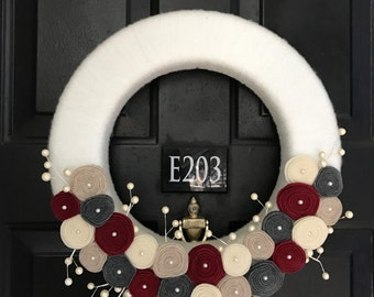 Wintertime Wreath - 16""