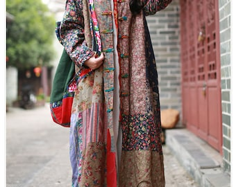 Women Light Weight Jackets Ethnic clothing Cotton Jackets Comfortable Jackets, Linen Jackets Vintage Jackets Floral Jackets