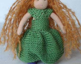 Baby Doll //Waldorf Pocket doll //Pocket Doll //Miniature Doll //Waldorf Doll Nature //Gift for girl