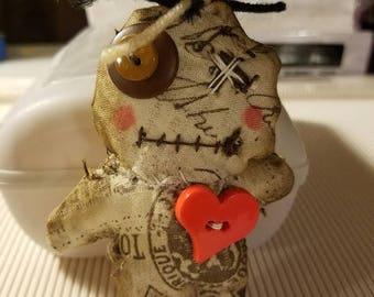 Voodoo Doll Tim Holtz Fabric