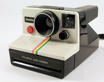Vintage Polaroid Camera // One Step Land Camera