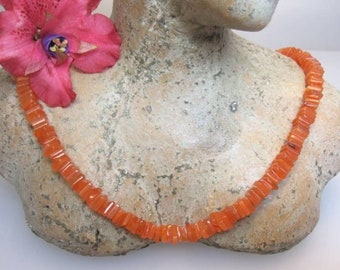Carnelian as a strand for a chain of Schmuckmueller!!!