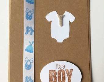 It's a boy, handmade, baby shower