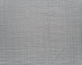 Gray Swaddle / Gray Gauze / Gray Muslin / Shannon Fabric by the Yard/ Silver Swaddle / Swaddle Fabric