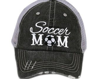 Free Shipping - Soccer MOM Women's Trucker Hat - IAD-TC-129