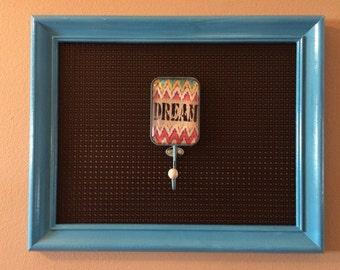 Frame jewelry holder.