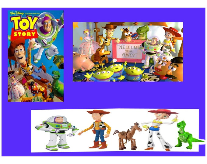 Toy Story Figures, Large Set of different characters from the Movie, In Excellent Condition, With Reduced Shipping